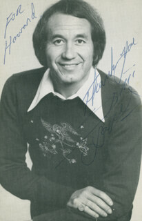TRINI LOPEZ - INSCRIBED PICTURE POSTCARD SIGNED
