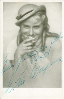HILDE WAGENER - AUTOGRAPHED INSCRIBED PHOTOGRAPH 1940
