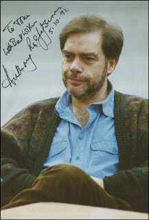 ANTHONY ROLFE JOHNSON - AUTOGRAPHED INSCRIBED PHOTOGRAPH 05/10/1991