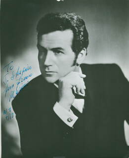 GIANFRANCO MASINI - AUTOGRAPHED INSCRIBED PHOTOGRAPH 04/1973