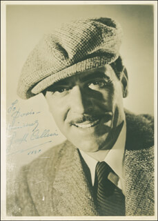 JOSEPH CALLEIA - AUTOGRAPHED INSCRIBED PHOTOGRAPH 1940