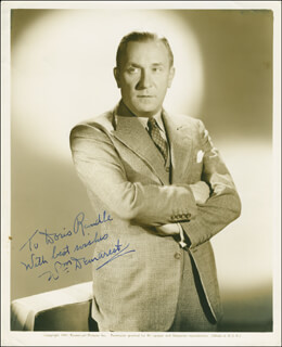 WILLIAM DEMAREST - AUTOGRAPHED INSCRIBED PHOTOGRAPH