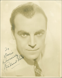 Autographs: RICHARD DICK LANE - INSCRIBED PHOTOGRAPH SIGNED