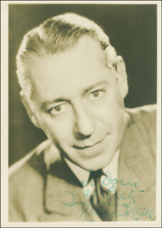 HENRY O'NEILL - AUTOGRAPHED INSCRIBED PHOTOGRAPH