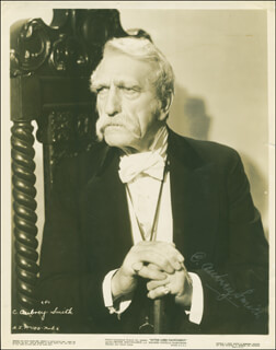 C. AUBREY SMITH - AUTOGRAPHED SIGNED PHOTOGRAPH