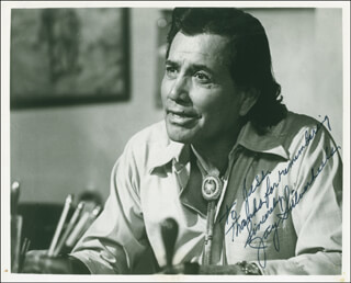 JAY TONTO SILVERHEELS - AUTOGRAPHED INSCRIBED PHOTOGRAPH