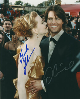TOM CRUISE - AUTOGRAPHED SIGNED PHOTOGRAPH CO-SIGNED BY: NICOLE KIDMAN