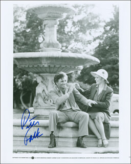 PETER FALK - AUTOGRAPHED SIGNED PHOTOGRAPH