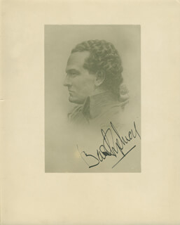 BASIL SYDNEY - PRINTED PHOTOGRAPH SIGNED IN INK