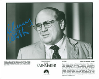 DANNY DEVITO - AUTOGRAPHED SIGNED PHOTOGRAPH