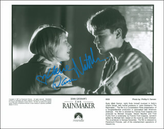 THE RAINMAKER MOVIE CAST - AUTOGRAPHED SIGNED PHOTOGRAPH CO-SIGNED BY: CLAIRE DANES, MATT DAMON