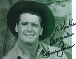 JAMES GARNER - AUTOGRAPHED INSCRIBED PHOTOGRAPH