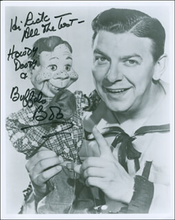 BUFFALO BOB SMITH - AUTOGRAPHED INSCRIBED PHOTOGRAPH