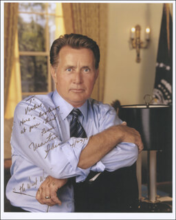 MARTIN SHEEN - AUTOGRAPHED INSCRIBED PHOTOGRAPH 04/23/2007