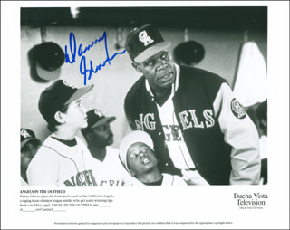 DANNY GLOVER - AUTOGRAPHED SIGNED PHOTOGRAPH