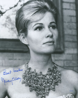 NANCY OLSON - AUTOGRAPHED SIGNED PHOTOGRAPH