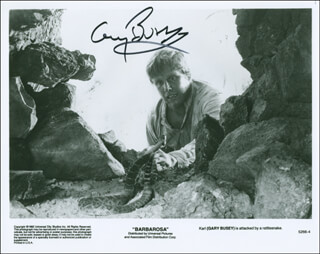 GARY BUSEY - AUTOGRAPHED SIGNED PHOTOGRAPH