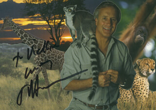 Autographs: JACK HANNA - INSCRIBED PHOTOGRAPH SIGNED