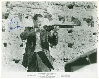 TONY RANDALL - AUTOGRAPHED SIGNED PHOTOGRAPH