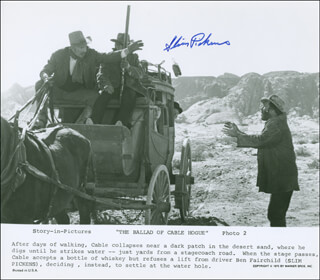 SLIM PICKENS - AUTOGRAPHED SIGNED PHOTOGRAPH