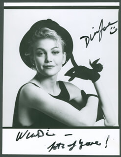 DIANE LANE - AUTOGRAPHED INSCRIBED PHOTOGRAPH