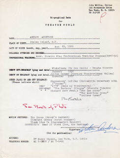 ARTHUR ANDERSON - TYPED RESUME SIGNED