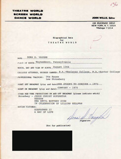 DONA D. VAUGHN - TYPED RESUME SIGNED
