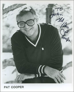 PAT COOPER - AUTOGRAPHED INSCRIBED PHOTOGRAPH