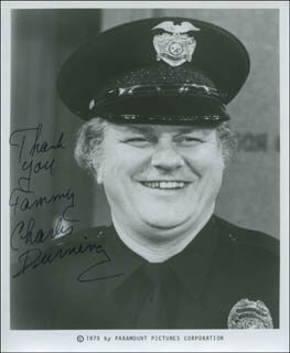 CHARLES DURNING - AUTOGRAPHED INSCRIBED PHOTOGRAPH