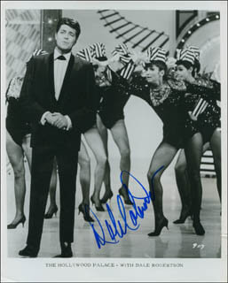 DALE ROBERTSON - AUTOGRAPHED SIGNED PHOTOGRAPH