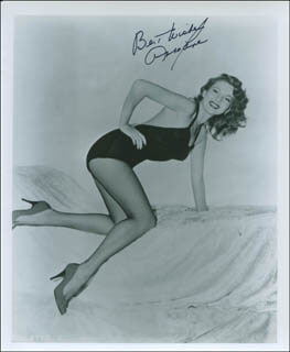 ABBE LANE - AUTOGRAPHED SIGNED PHOTOGRAPH