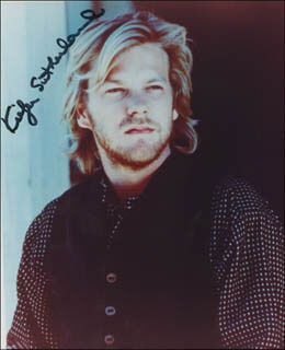 KIEFER SUTHERLAND - AUTOGRAPHED SIGNED PHOTOGRAPH