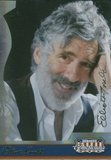 ELLIOTT GOULD - TRADING/SPORTS CARD SIGNED