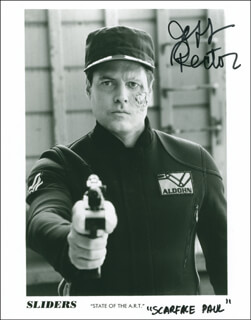 JEFF RECTOR - AUTOGRAPHED SIGNED PHOTOGRAPH