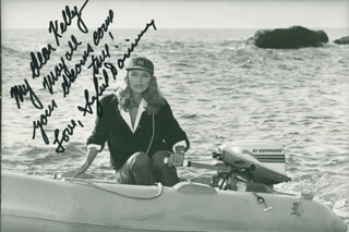 SYBIL DANNING - AUTOGRAPHED INSCRIBED PHOTOGRAPH