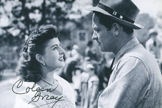 COLEEN GRAY - AUTOGRAPHED SIGNED PHOTOGRAPH