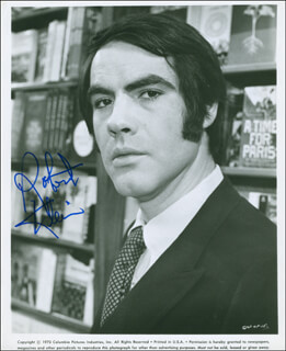 ROBERT KLEIN - AUTOGRAPHED SIGNED PHOTOGRAPH