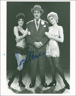 JERRY ORBACH - AUTOGRAPHED SIGNED PHOTOGRAPH