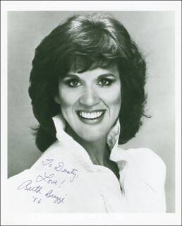 RUTH BUZZI - AUTOGRAPHED INSCRIBED PHOTOGRAPH 1986