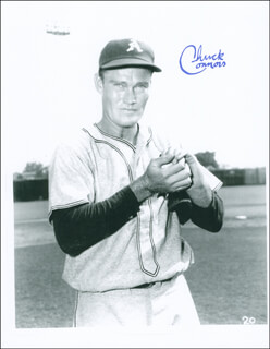 CHUCK CONNORS - AUTOGRAPHED SIGNED PHOTOGRAPH