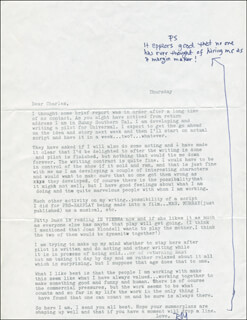 ROY LONDON - TYPED LETTER SIGNED