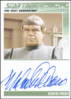 MALACHI THRONE - TRADING/SPORTS CARD SIGNED