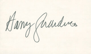 HARRY GUARDINO - AUTOGRAPH
