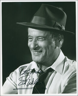 ELI WALLACH - AUTOGRAPHED SIGNED PHOTOGRAPH