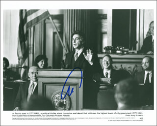 AL PACINO - PRINTED PHOTOGRAPH SIGNED IN INK