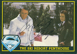 ROBERT VAUGHN - TRADING/SPORTS CARD SIGNED