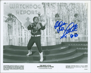DOM DELUISE - AUTOGRAPHED SIGNED PHOTOGRAPH 1988