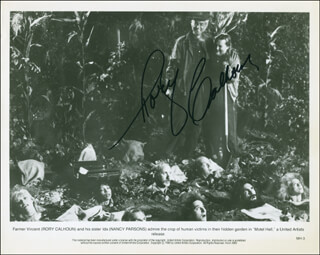RORY CALHOUN - PRINTED PHOTOGRAPH SIGNED IN INK