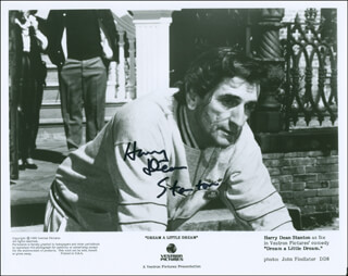 HARRY DEAN STANTON - AUTOGRAPHED SIGNED PHOTOGRAPH