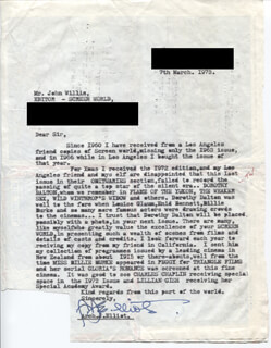 ARCH J. ELLIOT - TYPED LETTER SIGNED 03/07/1973